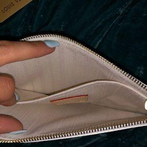 Louis Vuitton Bags - Louis Vuitton Neverfull Damier Azur Pochette